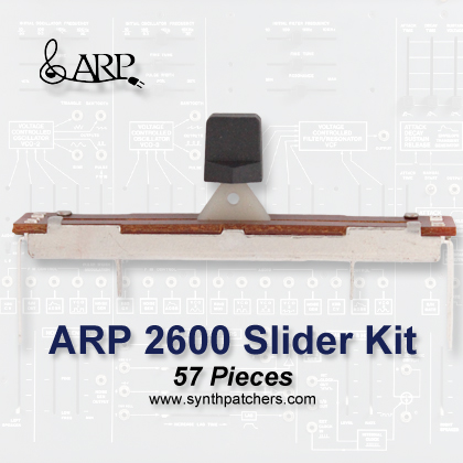 ARP 2600 Slider Kit from Synth Patchers.