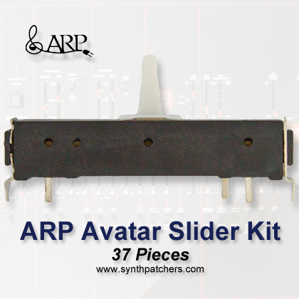 ARP Avatar Slider Kit from Synth Patchers.