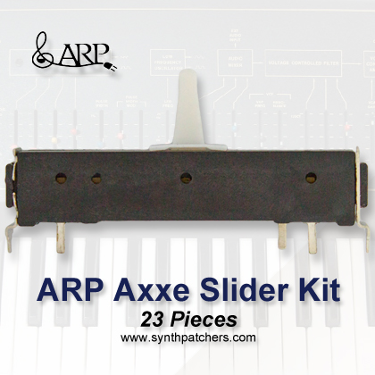 ARP Axxe Slider Kit from Synth Patchers.