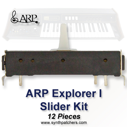 ARP Explorer I Slider Kit from Synth Patchers.