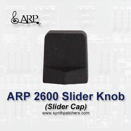 ARP Slider Knob (Cap) from Synth Patchers.