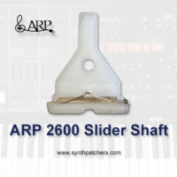 ARP 2600 Slider Shaft from Synth Patchers.